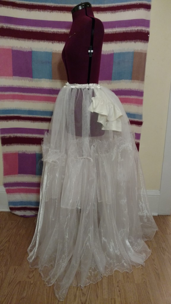 Cinderella Transformation Dress skirt