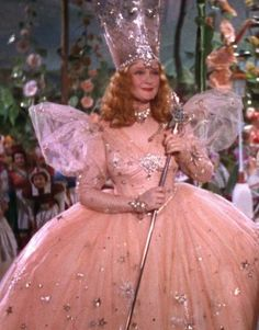 Original Glinda the Good Witch Costume Cinderella Dress