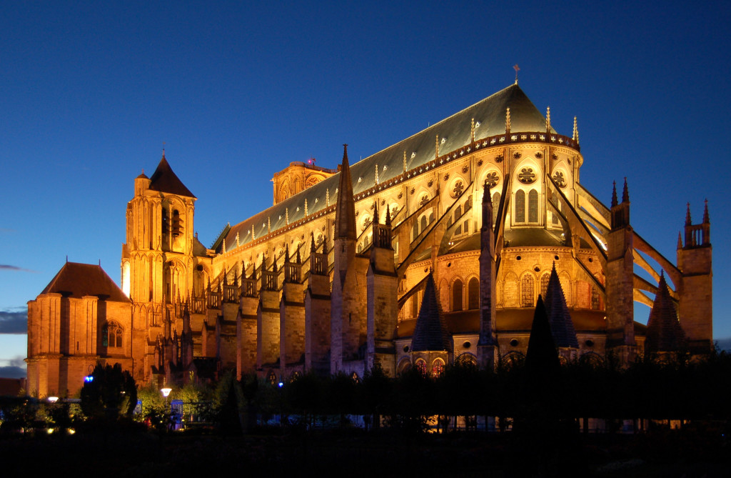 The Cathedral in Bourges, France