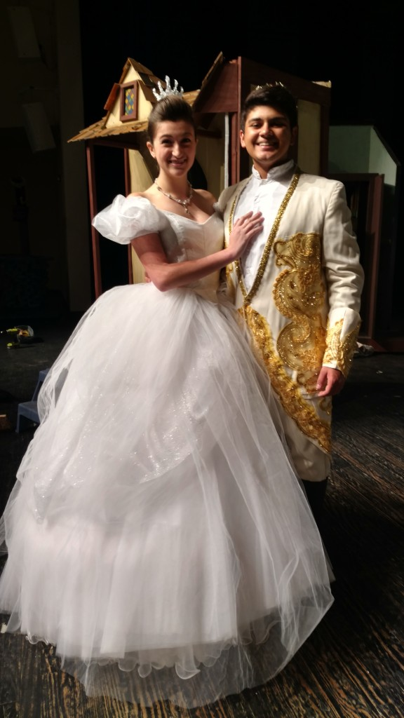 Cinderella Transformation Dress Pictures