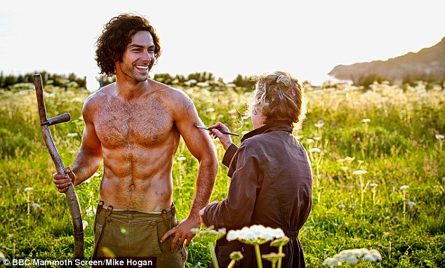 Ross Poldark assisting me with my meal plan