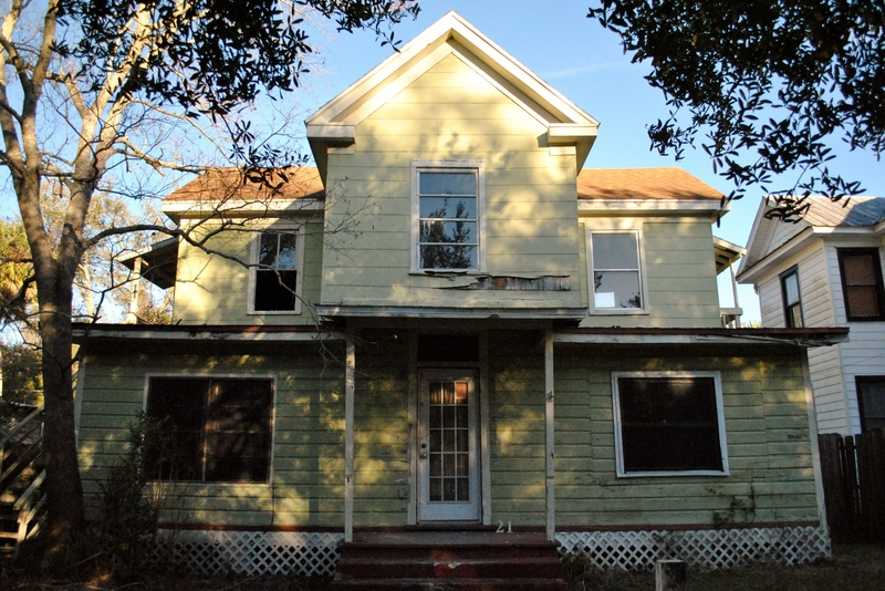 Goal Encouragement: Our future house, soon to rehabbed by the Sanford Heritage Revolving Fund
