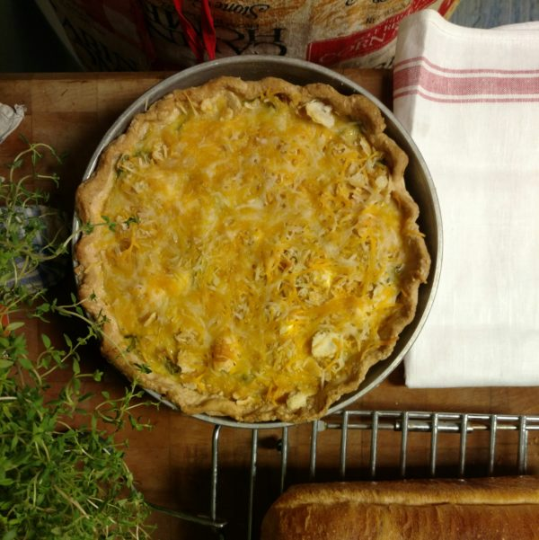 Crab Quiche by Sumalee Eaton