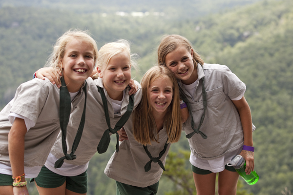 Mountain climbing at Camp Merrie-Woode